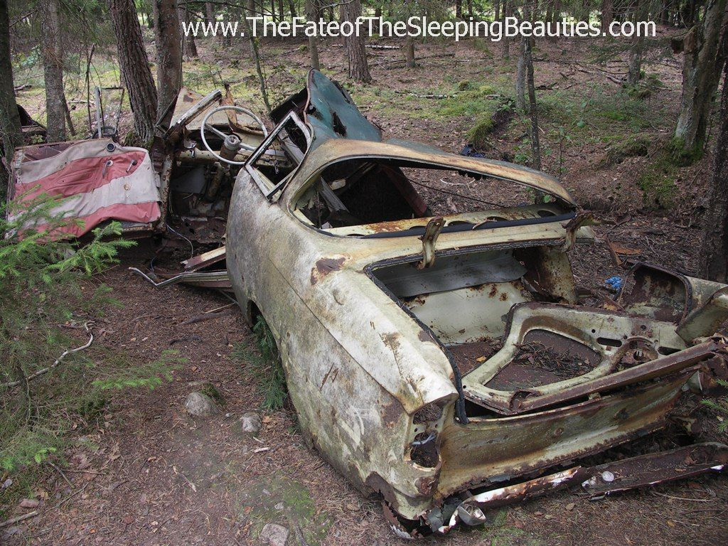 Photos of unrestored cars, barnfinds and abandoned vehicles